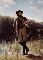 Иван Крамской - Портрет художника И. И. Шишкина