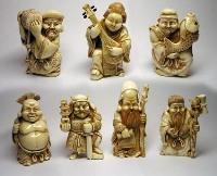 """Статуэтки на тематику """"7 японских богов счастья"""""""