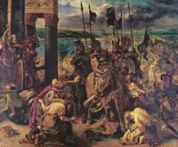 Крестоносцы в Константинополе (Э. Делакруа)