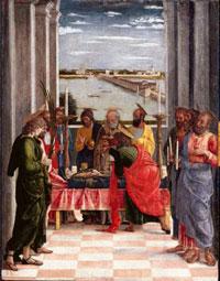 Смерть Девы Марии (А. Мантенья)