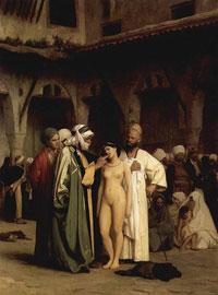 Продажа рабыни (Жан Жером)