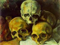 Натюрморт с черепами,Сезанн Поль