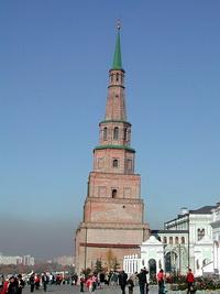 Башня Сююмбике - исторический символ Казани