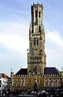 Брюгге, Городская ратуша на Рыночной площади.