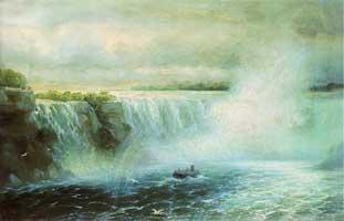 Ниагарский водопад (И.К. Айвазовский)