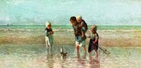 Дети на берегу моря (Й. Израэлс)