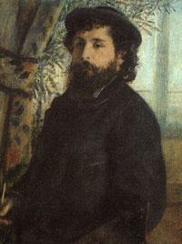 Портрет Клода Моне (П.О. Ренуар)
