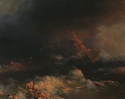 Крушение корабля Ингерманланд в Скагерраке в ночь на 30 августа 1842 г.