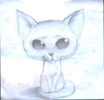 Кошечка (шарж на животных)