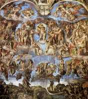 Микеланджело Страшный суд