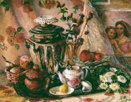 Чай с лимоном и шиповником (Татьяна Прусова)