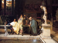 Римский меценат (Л. Альма-Тадема, 1868 г.)