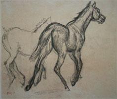 Лошади (Э. Дега)