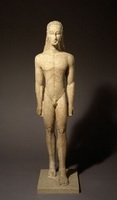 Архаическая статуя атлета или бога