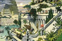 Висячие сады семирамиды - Чудо света