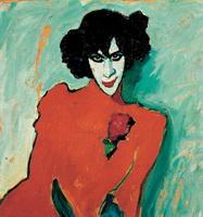 Портрет танцора (А. Явленский, 1909 г.)