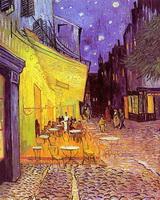 Терраса кафе ночью (В. ван Гог)