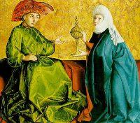 Северное Возрождение в Германии. Картина 1434 года.