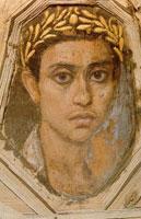 Юноша в золотом венке