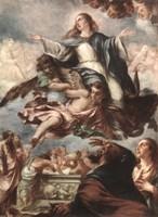 Хуан де Вальдес Леаль. Явление Богородицы