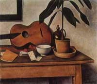 Натюрморт с гитарой (Александр Канольдт)