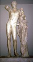 Гермес с младенцем Дионисом