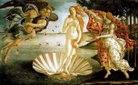 Рождение Венеры (С. Боттичели, 1482 г.)