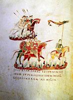 Войско в походе (Санктгалленский Псалтырь)