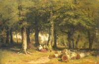 В роще. 1869