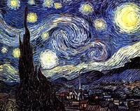 Звездная ночь (Ван Гог, 1889 г.)