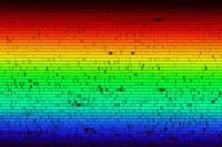 Цвета солнечного спектра