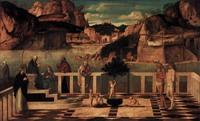 Озерная мадонна, Джованни Беллини, ок. 1490