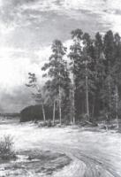 На опушке соснового леса. 1884