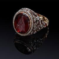 Перстень с инталией