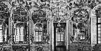 Зеркальный зал во дворце Амалиенбург (Ф. Кювилье, 18 в.)