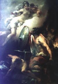 Венера в мастерской Вулкана (Г. Гандолфи)