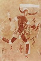 Рогатая богиня (Алжирская Сахара)