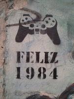 Изображение на Берлинской стене (трафарет)