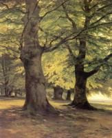 Тевтобургский лес.Фрагмент.1865