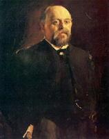 Портрет С.М. Мамонтова (В.А. Серов, 1887 г.)