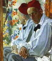 Портрет В.Э. Мейерхольда (А.Я. Головин)