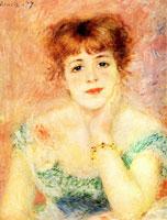 Жанна Самари (Пьер Огюст Ренуар, 1877 г.)