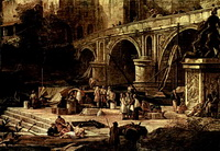 Ведута речного порта (Л. Карлеварис)