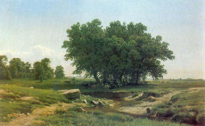 Дубки. 1886