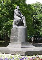 Памятник И.С. Тургеневу (г. Орел)