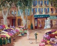Экс-ан-Прованс. Цветочный рынок. (А.А. Зименкова)