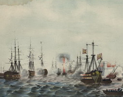 Синопское сражение (Д. Шамин, 1854 г.)