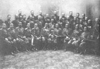Генералы и штаб-офицеры гвардейской артиллерии