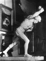Парень, играющий в свайку (1836 г.)