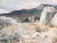 Горная дорожка. Крым. Этюд. 1879